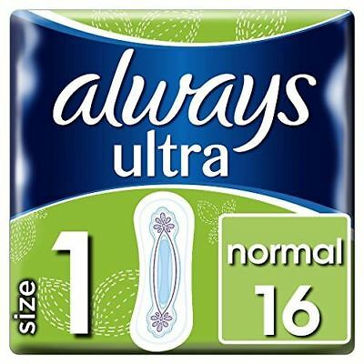 Always Ultra Normal Sanitary Towels Single Pack x 16 pads