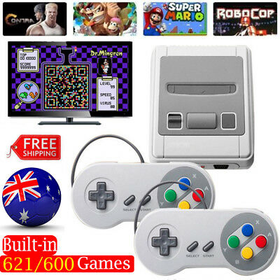 621 Games in 1 Classic Mini Game Console for Retro TV HDMI/AV Gamepads  Nintendo