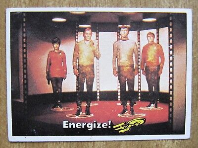 1976 Topps/Scanlens Star Trek Card:  CAPTAIN'S  LOG  ....  #28  +  Free Post