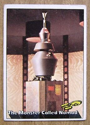 1976 Topps/Scanlens Star Trek Card:  CAPTAIN'S  LOG  ....  #33  +  Free Post