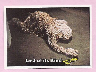 1976 Topps/Scanlens Star Trek Card:  CAPTAIN'S  LOG  ....  #19  +  Free Post