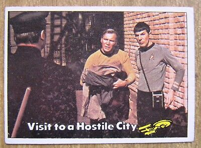 1976 Topps/Scanlens Star Trek Card:  CAPTAIN'S  LOG  ....  #14  +  Free Post