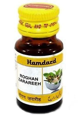 Hamdard Rogan Zarareeh useful in Dandruff, or other issues related to hair 10ml