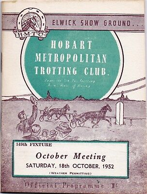 1952 HMTC Race Book:  CAULFIELD CUP DAY  (Peshawar, Grey Boots, etc)  Free Post