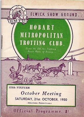 1950 HMTC Race Book:  CAULFIELD CUP DAY  (Comic Court, Chicquita etc)  Free Post