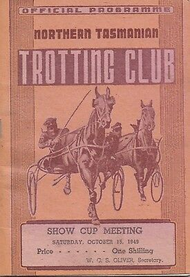 1949  NTTC Race Book:  CAULFIELD CUP DAY  (Comic Court, Lincoln etc)  Free Post