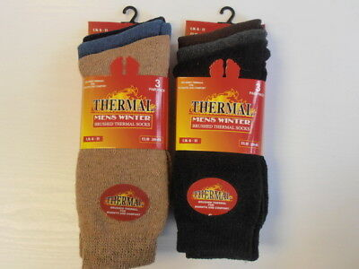Thermal socks for Men, pack of 3, choice of colour