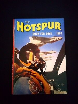 The Hotspur Book For Boys 1968 Vintage Adventure/Action Annual