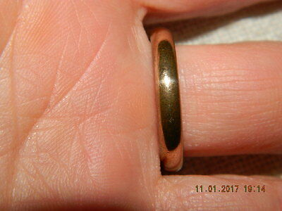 ~~~Wunderschöner Ring A&D AM Charne alt antik Golddouble Gr.59/60 ~~