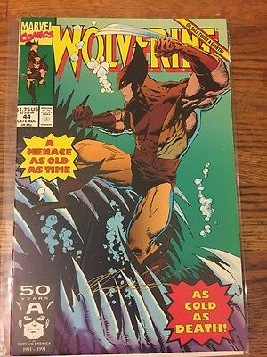 Wolverine (1988 series) #44 Near Mint. FREE bag/board; Signed By Marc Silvestri