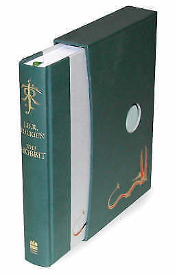 The Hobbit: Deluxe Edition by J.R.R. Tolkien Hardcover Book Free Shipping!