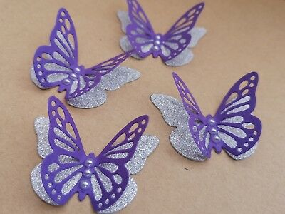 Card Making Toppers Party Decorations Cream PETER RABBIT 3D Paper Butterflies