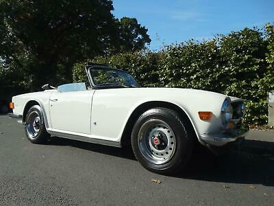 1973 TRIUMPH TR6 with overdrive