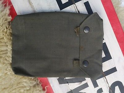 German Gas Plane Pocket Toile Anti Gaz Allemand Ww2