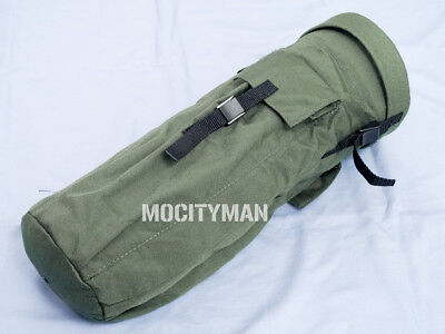 """US Military 18"""" x 7"""" OD Green Case Bag - Fits Litefighter 1 Tent - USA Made NEW"""