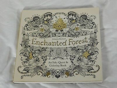 The Enchanted Forest: An Inky Quest and Coloring Book for All Ages