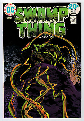 Swamp Thing #8 8.5 High Grade Wrightson Cover 1973 Off-White/white Pages B
