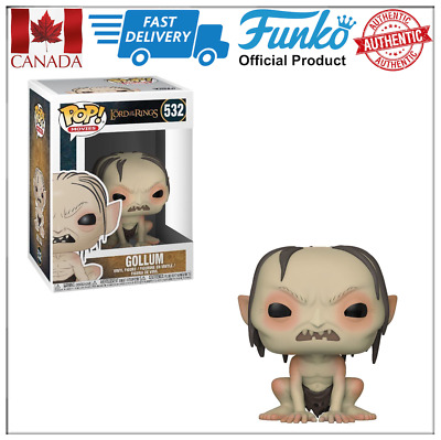 Authentic Funko POP! LOTR Gollum Lord of the Rings #532 Mint Box Canada Seller