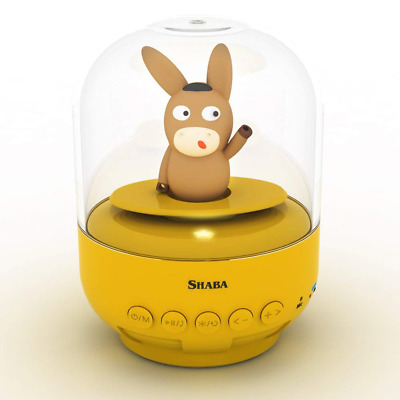 Speaker for kids, SHABA bell Jar animal pet mini Bluetooth with microphone, wire