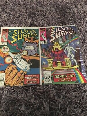 silver surfer #34-35 #37-38 #55-59