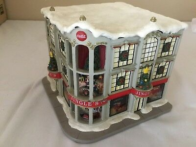 Hawthorn Village Jingles Department Store Coca Cola 2002 Holiday Collection