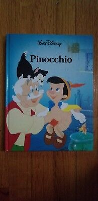 Vintage 1986 Walt Disney Pinocchio Gallery Books Hardcover Collectible