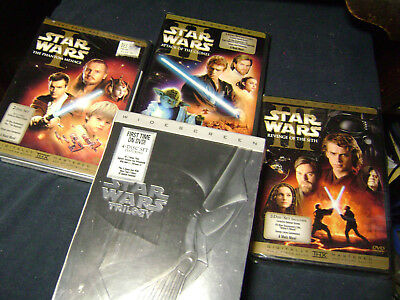 Star Wars The Complete Saga 1,2,3,4,5,6, Dvd Trilogy Prequel I,Ii,Iii,Iv,V,Vi