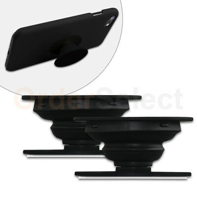 2 Universal PULL OUT - UP Phone Stand Expand Grip Tablet Holder Oval Mount Stand