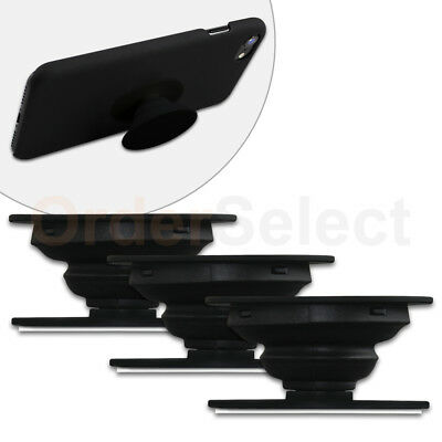 3 Universal PULL OUT - UP Phone Stand Expand Grip Tablet Holder Oval Mount Stand