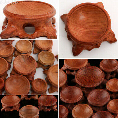 Acid Branch Wood Display Stand Base for Crystal Ball Sphere Home Decoration S-XL