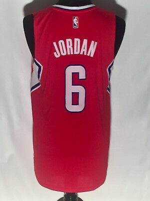 68967567b Deandre Jordan  6 Los Angeles Clippers NBA Basketball Adidas Swingman M  Jersey