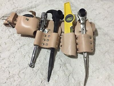 SCAFFOLDING-NATURAL-LEATHER-BELT-Heavy-Duty-Full-Tool-set-4-in-1-wrench-19