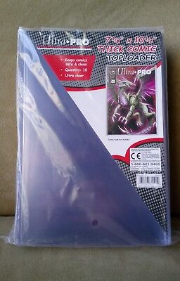 Ultra PRO COMIC BOOK Thick Top Loader Pack 10