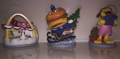 McDonald's McMemories Christmas Ornaments