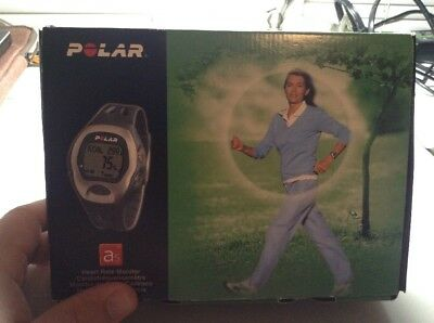 Polar A5 Fitness Workout Heart Rate Monitor Watch With Strap
