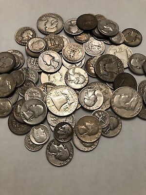 $5 face Value 90% Silver US coins. Mix Of .50, .25 And .10 (#BB1-BB10)