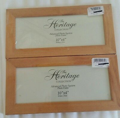 Heritage Collection Wooden Rectangle Picture Frames x 2 Cross Stitch Embroidery
