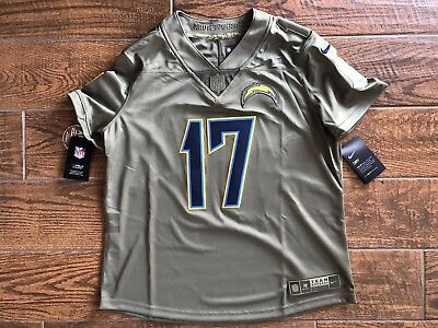 info for eeb50 1394f WOMEN'S NIKE CHARGERS Philip Rivers Salute To Service Jersey ...