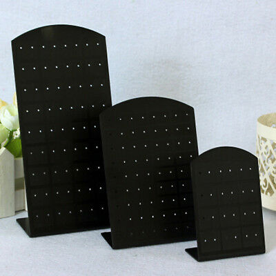 24 / 48 / 72 Hole Earring Stud Display Stand Acrylic Holder Jewellery Rack Shelf