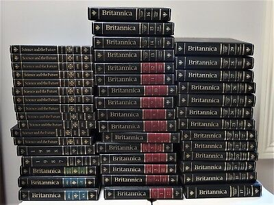 46 x Encyclopedia Britannica, Science & The Future, Knowledge in Depth Reference