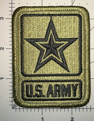 Us Army Ocp Scorpion Us Army Star Logo Patch With Hook New (B243)