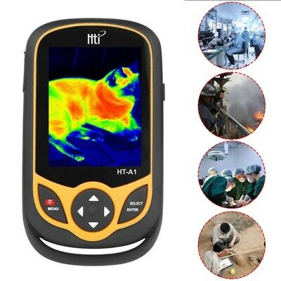 Hti HT-A1 3.2 inch Full View TFT Screen Infrared thermometer Thermal Imager 0 A3