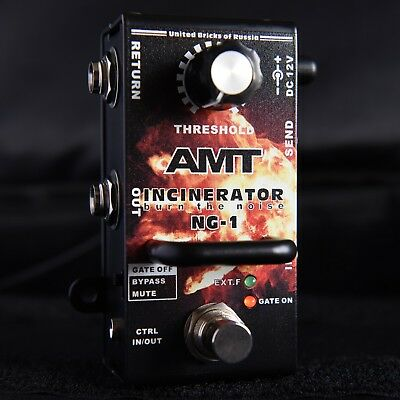 AMT Electronics NG-1 Incinerator Noise Gate Suppressor Reduction Pedal (B-Stock)
