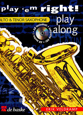 Play'em right! play along für Es+B Sax incl. CD