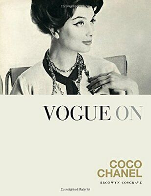 Vogue on: Coco Chanel by Bronwyn Cosgrave New Hardback Book