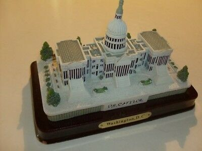 Us Capitol Building Miniature Washington D.c. 3D Replica Very Detailed Display