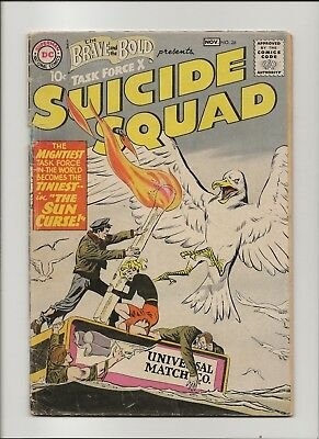 Brave and the Bold 26 VG- 3.5 2nd Suicide Squad 1959