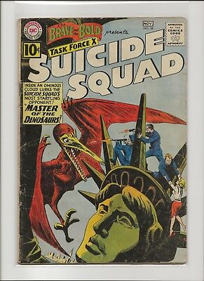Brave and the Bold 38 VG 4.0 3rd Suicide Squad 1961