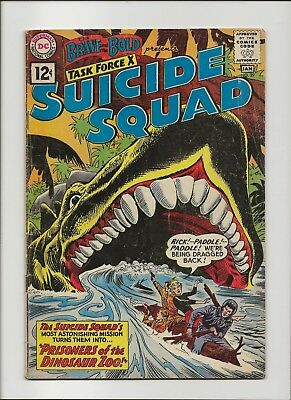 Brave and the Bold 39 VG 4.0 4th Suicide Squad 1962