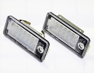 Audi A4 S4 RS4 (Typ B6, B7) LED SMD Kennzeichenbeleuchtung ab Bj. 2002-2009